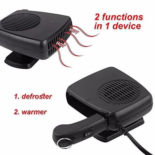 Quạt sưởi ô tô Auto Fan Heater - Quạt thông gió ô tô
