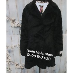 áo khoác dạ cổ lông hàng si tuyển