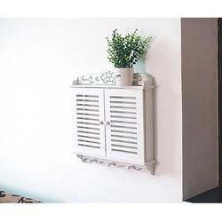 Kệ cửa sổ trang trí tường có móc treo đồ