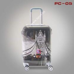 Vali nhựa in hình hoạ tiết