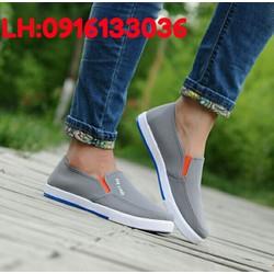 Giày Mọi Nam Nữ Giày Lười Nam Nữ 39 40 41 42 43 Xám WGL006