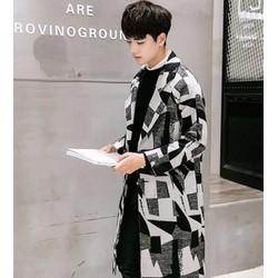 Tên sản phẩm: áo khoác măng tô họa tiết Mã: NK1043