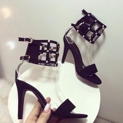 giày cao got đính đá nữ cực đẹp