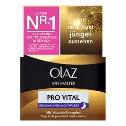 Kem dưỡng da chống nhăn ban đêm Olaz Anti-Falten Pro Vital của Đức
