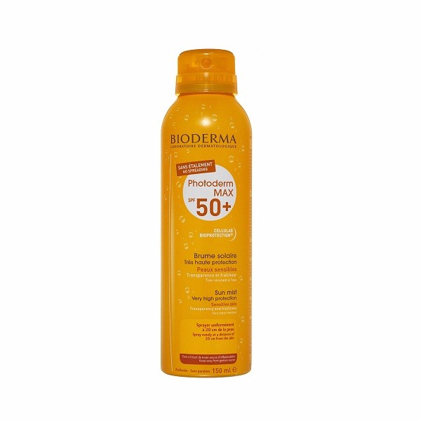 Xịt Chống Nắng Bioderma Photoderm Max Brume Solaire SPF 50+ 150ml