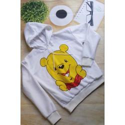 Áo hoodie Gấu Pooh