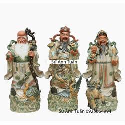 Tượng Tam Đa Tứ Linh - Làng gốm Bát Tràng