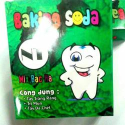 Backing Soda -Tẩy Trắng Răng -Trị Mụn -Tẩy Da Chết-