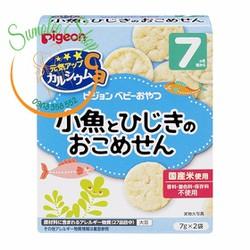 Snack Gạo Pigeon cho Bé 7m Vị Cá Rong biển