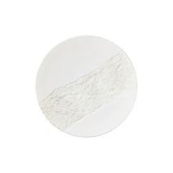 Đĩa gốm sứ ngọc trai Nhật Bản dùng ăn tối 28cm - họa tiết dòng sông