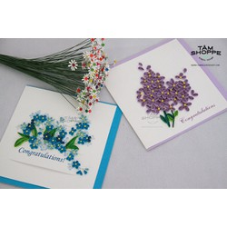 THIỆP GIẤY QUILLING HANDMADE SỐ 02