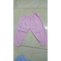 quần bo ống thun cotton hiệu bossini