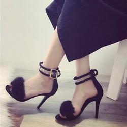 giày gót nhọn quai trong