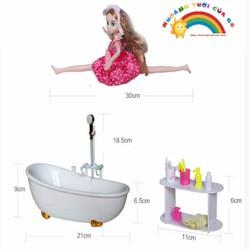 Phòng tắm búp bê Lelia KT214