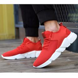 Giày thể thao đỏ cổ thấp BT101
