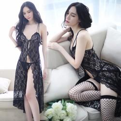 Đầm ngủ form dài kiêu sa quyến rũ TK1033