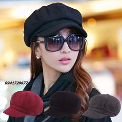 Mũ nón bere nam nữ thiết kế hàn quốc