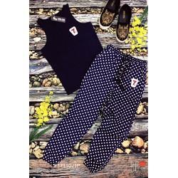 Set bộ áo thun 3 lỗ tag 7 quần dài hàng thiết kế! MS: S171105 sỉ: 120k