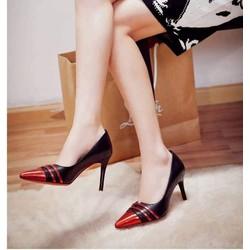 Giày cao gót 7cm,