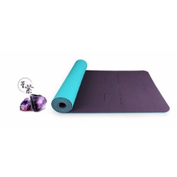 Thảm tập yoga cáo cấp Hatha - Tặng dây đai và túi thời trang