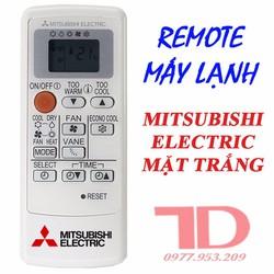 Remote máy lạnh Mitsubishi Electric - Mặt trắng