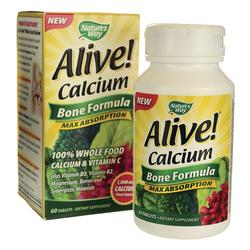 Vitamin bổ sung canxi tổng hợp Alive Calcium 60 viên
