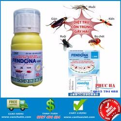 Thuốc xịt diệt ruồi muỗi côn trùng Fendona 10SC 50ml