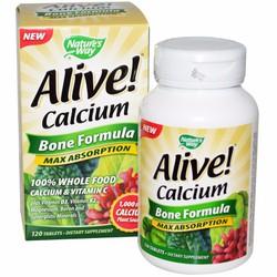 Vitamin tổng hợp bổ sung canxi Alive Calcium 120 tab