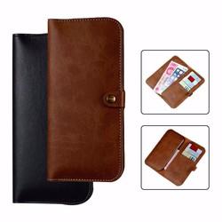 Ốp bao da kiêm ví đựng tiền, thẻ atm cho iphone 7