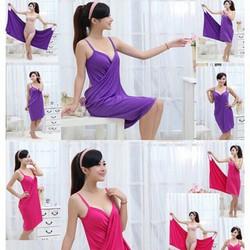 Khăn tắm váy đa năng 2in1
