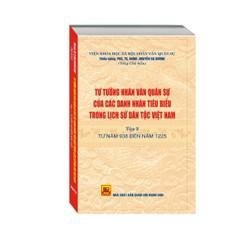 Tư tưởng NVQS của các doanh nhân tiêu biểu trong LSDT Việt Nam tập 2