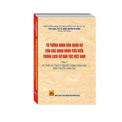 Tư tưởng NVQS của các doanh nhân tiêu biểu trong LSDT Việt Nam tập 1