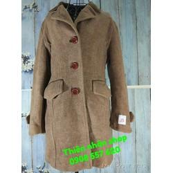 áo khoác dạu dài 3 nút hàng si tuyển