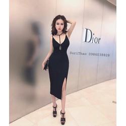 Đầm body kèm dây cực sexy bao đẹp- hàng nhập