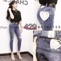 quần jean dài rách 422