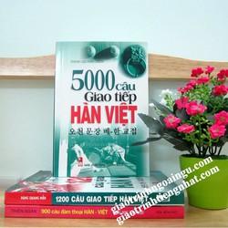 Sách 5000 câu giao tiếp Hàn Việt