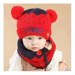mũ len cho bé 5 tháng đến 2 tuổi