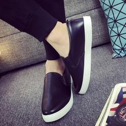Giày Lười Da Trơn Nam