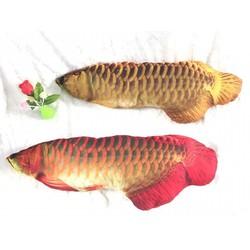 gối bông hình cá
