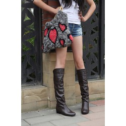 Giày bốt nữ sành điệu, trẻ trung - Mã số 590168