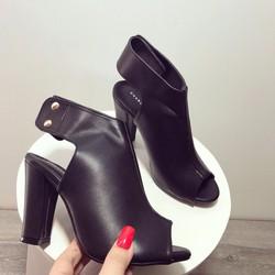 giày boot cao gót nữ