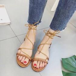 Giày sandal dây cột chiến binh 5