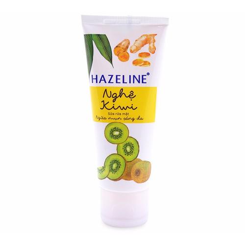 Sữa rửa mặt sáng da hazeline nghệ 50g