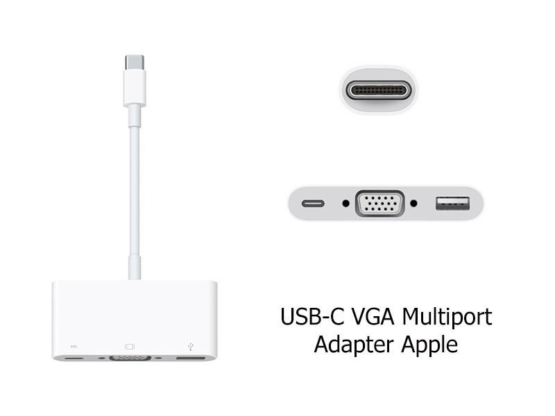 CÁP CHUYỂN TYPE-C RA VGA VÀ USB 3.0 CÓ NGUỒN LOẠI TỐT 1