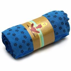 Khăn trải thảm tập yoga màu xanh dương