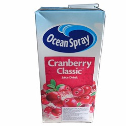 Nước Ép Nam Việt Quất Ocean Spray Cranberry Juice 1L