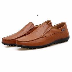 Giày lười nam da bò cao cấp mẫu cực hot 2018 ZS066