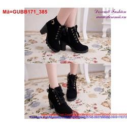 Giày boot da nữ  GUBB171