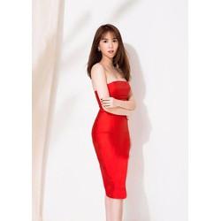Đầm ôm body thiết kế cúp ngực gợi cảm
