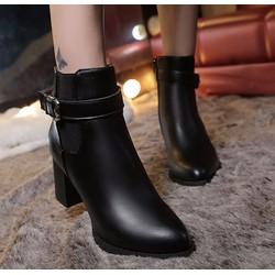 Giày bốt nữ sành điệu, trẻ trung - MM90151
